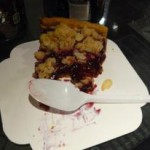 Crumble fruits rouges ! MIAM !
