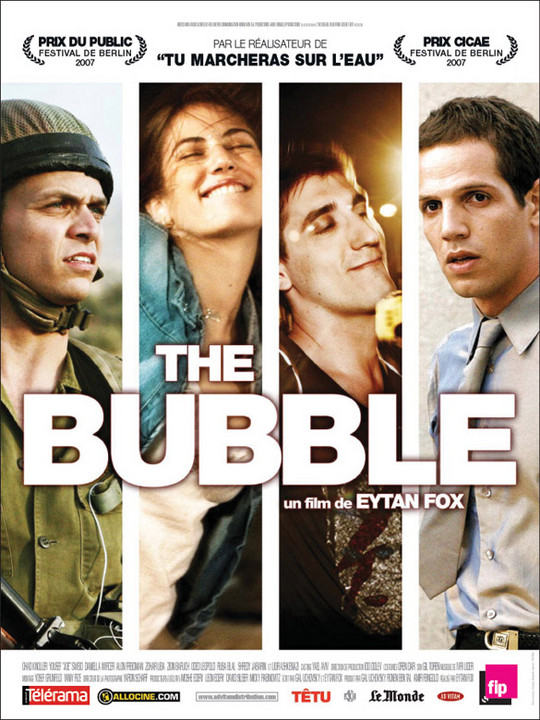 "Jaquette du film ""The Bubble"""