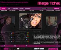 Mega-Tchat, une rencontre par tchat webcam