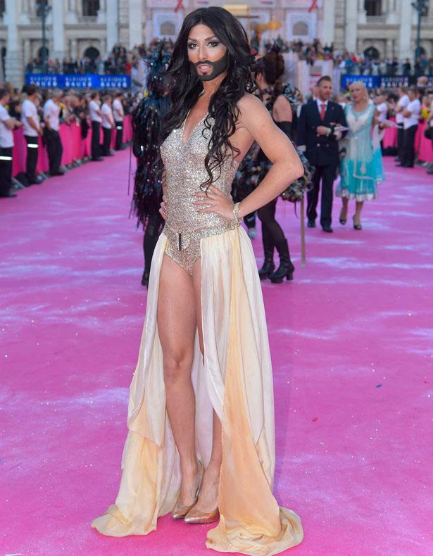 Conchita Wurst au festival de l'Eurovision