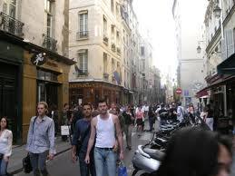 Le quartier des Marais à Paris