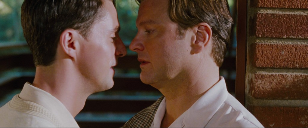 A Single Man - Colin Firth & Matthew Goode